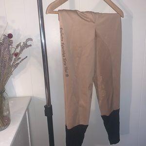 Pants - Lace detail Breeches